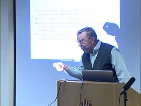 """Ted Bergstrom - """"Ethics, evolution, and neighborly games"""""""