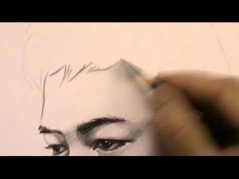 วาดหน้าคน I like drawing