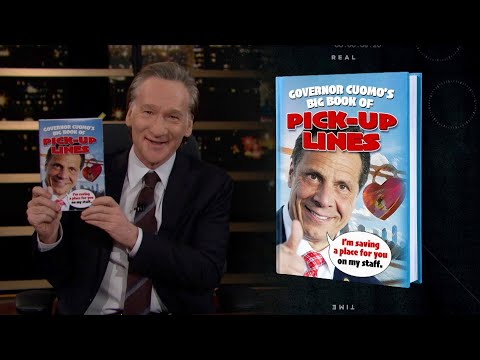 Governor Cuomo's Big Book of Pick-Up Lines  Real Time with Bill Maher (HBO)