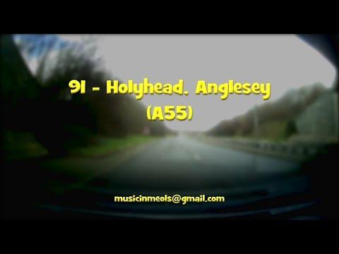Neil Gs Road Trips - 91- Holyhead (A55). Music by Ian B/Neil G
