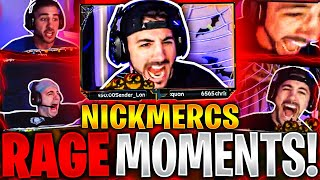 Nickmercs Most Hilarious Rage Moments!