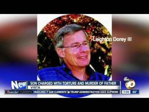 Son charged with torture and murder of Rancho Santa Fe father