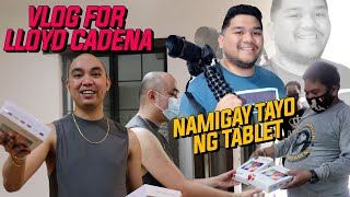 A VLOG FOR LLOYD CADENA (NAMIGAY TAYO NG TABLET)