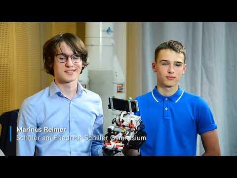 Rolls-Royce | Schüler auf Mars-Mission