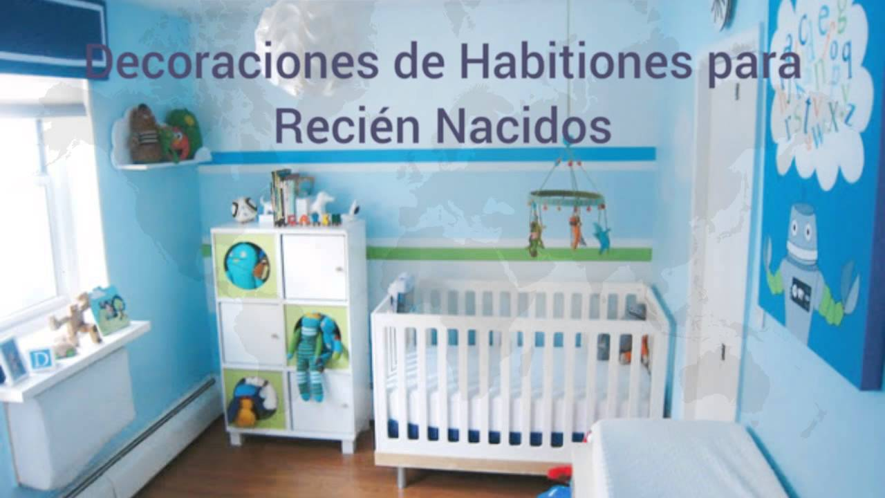 Decoraciones para beb s reci n nacidos youtube for Decoracion para cuarto de bebe varon