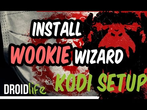 Wookie Wizard, How to install on Kodi with Amazon firestick, Android Box, PC