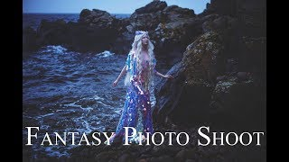 Mermaid Fantasy Photo Shoots on Bornholm with Sabrina Nielsen Photography