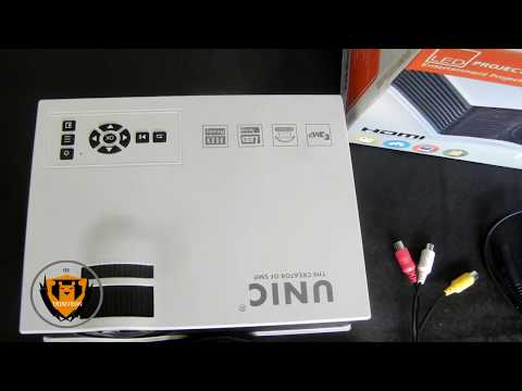 Multimedia HD BEST HdMi and VGA PROJECTOR UC40 Projector in hindi INDIA  under $100 in hindi