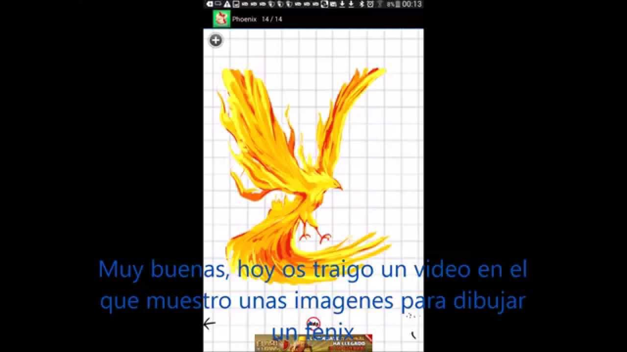 Como Dibujar Un Fenix Paso Por Paso App Youtube