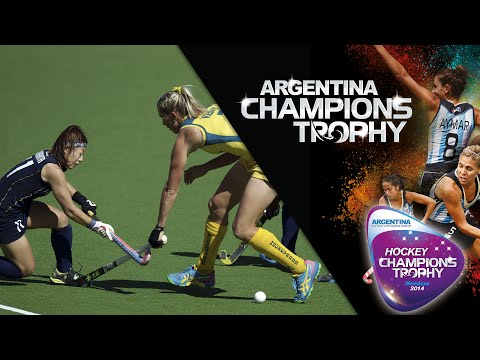 Australia vs Japan - Women's  Hockey Champions Trophy 2014 Argentina Quarter Final 2 [4/12/2014]