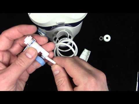 How to fix a broken Waterpik hose