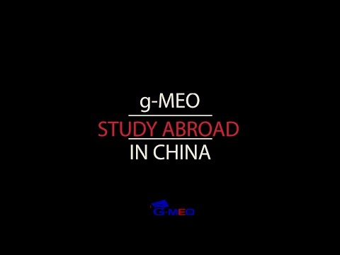 g-MEO Study Abroad Program in China: Chengdu 2016