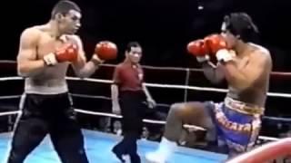 Виталий Кличко против кикбоксера. Запрещенное видео