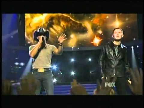 Scotty McCreery & Tim McGraw - Live Like You Were Dying - American Idol 10 Finale - 05/25/11