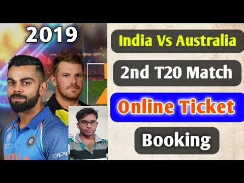 India Vs Australia 2nd T20 Cricket Ticket Booking Online , Cricket Ticket Booking Kaise Kre In Hindi