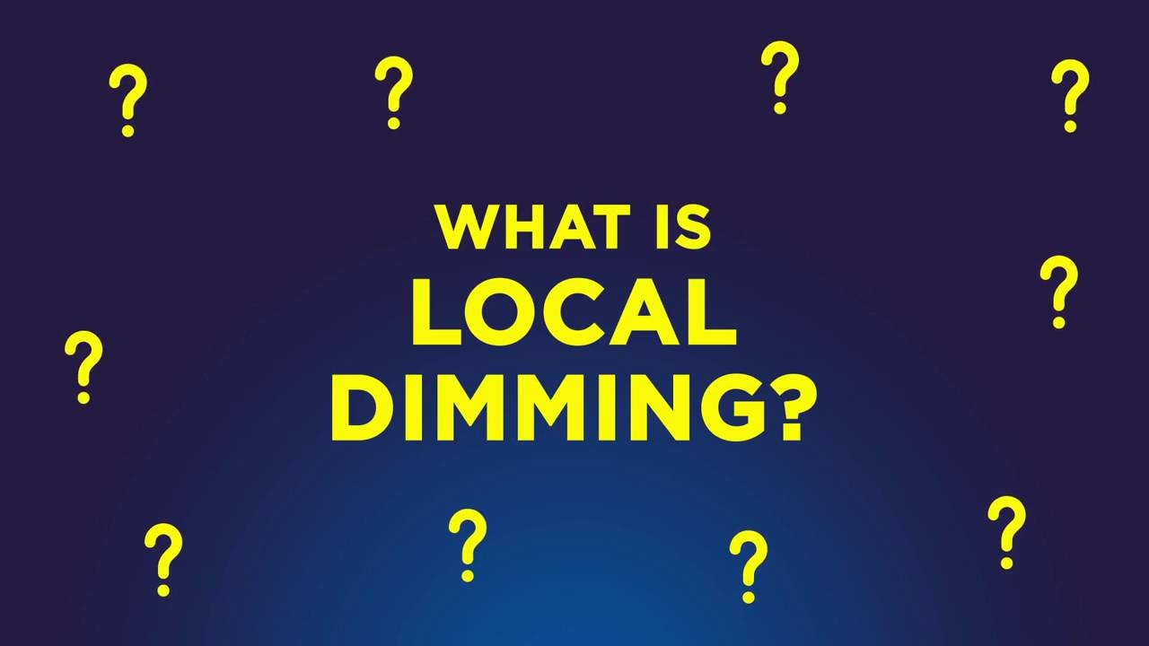 What is local dimming?