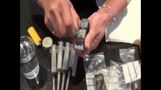 How to Refill Printer Ink Cartridge(This is for Canon MP760 and Canon MP630. About this Channel - https://www.youtube.com/watch?v=4XNo9... Follow me on Facebook ..., 2012-06-17T03:55:08.000Z)