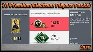 FUT 20 - 10 Premium Electrum Players Packs! (Pack Opening)