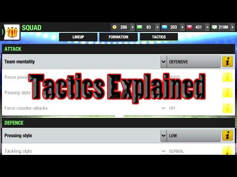 Tactics Explained-Top ElevenMentalityPressing-Tactics