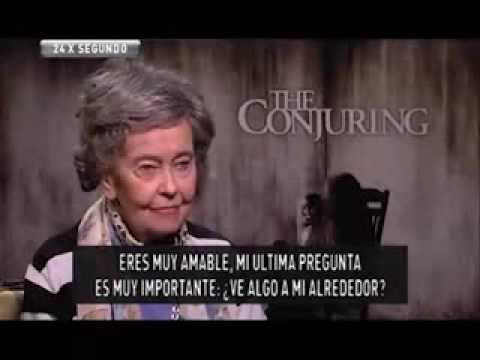EL CONJURO: Entrevista Lorraine Warren - YouTube