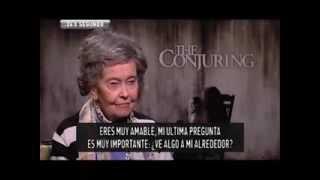 EL CONJURO: Entrevista Lorraine Warren