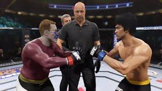 Aquaman vs. Bruce Lee (EA Sports UFC 2)