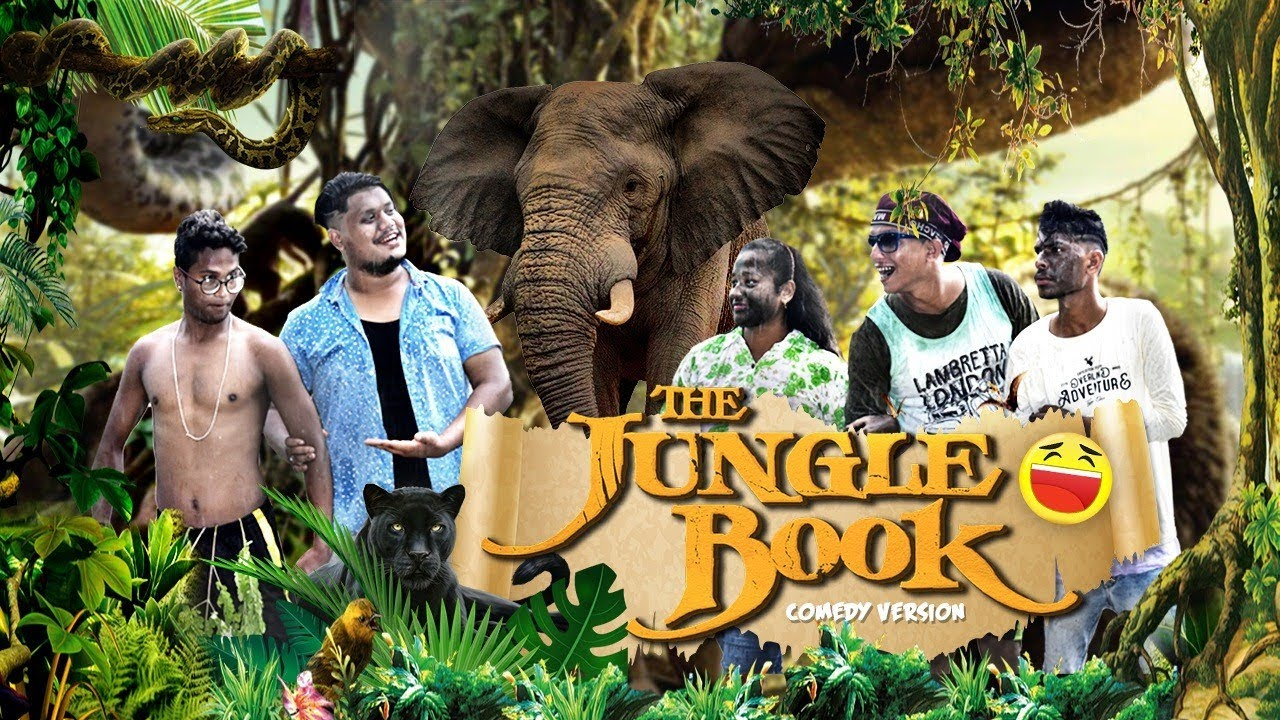 The Jungle Book (Comedy Version)    OLlaCrazy    NEW ASSAMESE FUNNY VIDEO 2021