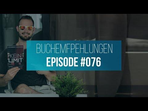 Unsere 4 besten BUCHEMPFEHLUNGEN der letzten Zeit! - KEIN LIMIT Podcast #076