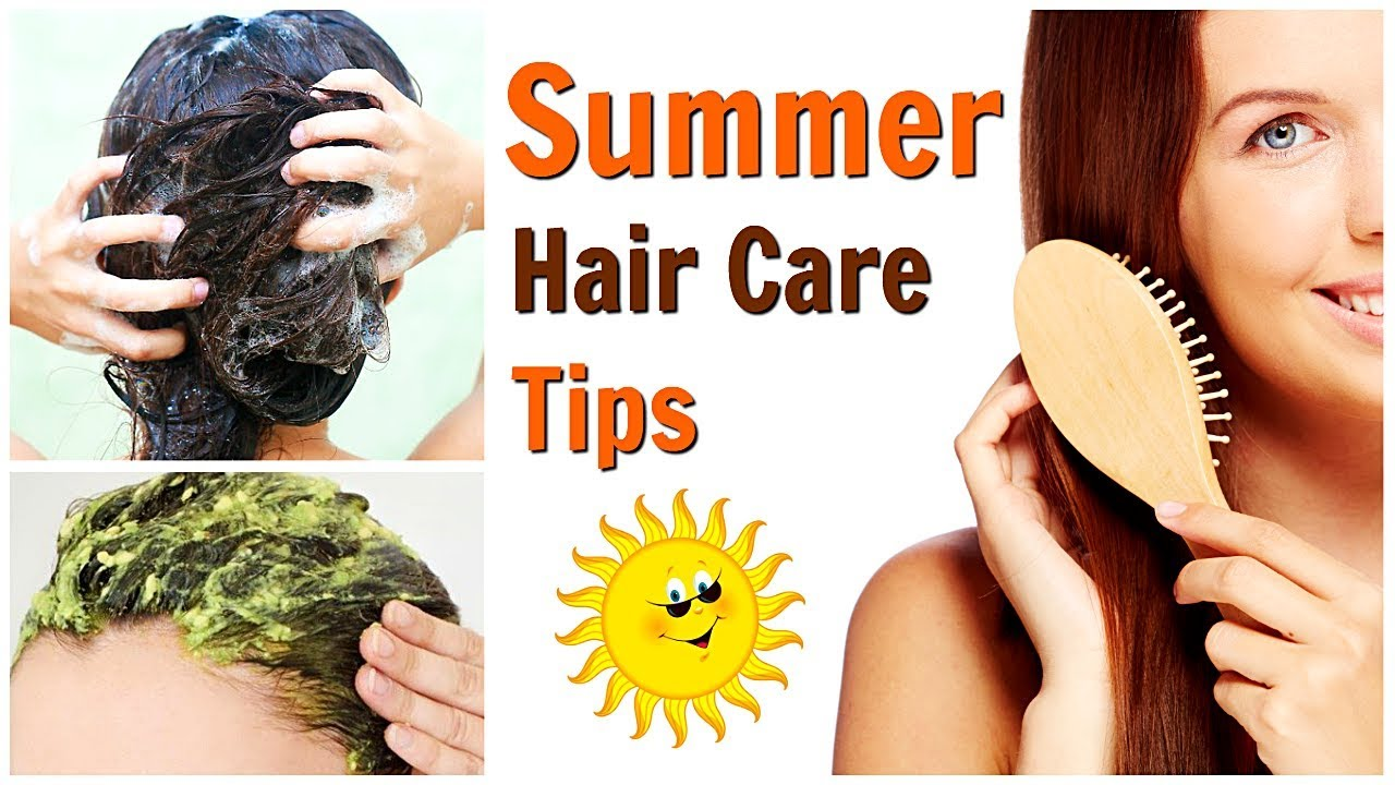 Hair Best care tip for summer pictures