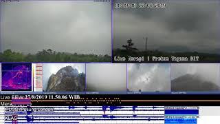 27/8/2019 - Mt Merapi TimeLapse