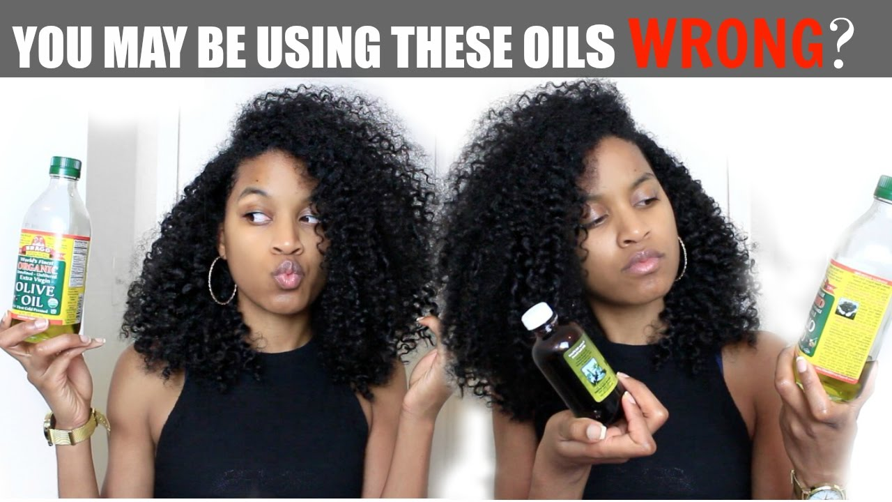 Sealing Oils Vs Moisturizing Oils All Hair Types Natural Curly