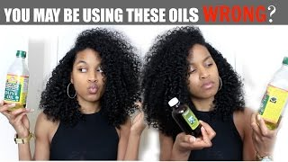 Sealing Oils vs Moisturizing Oils (ALL HAIR TYPES)|Natural Curly Hair Care