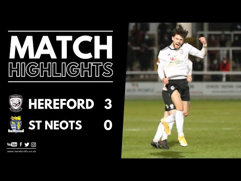 Hereford St. Neots Goals And Highlights