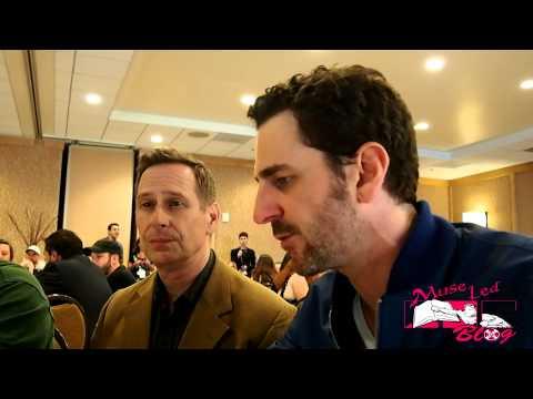 Aaron Abrams and Scott Thompson  talks Hannibal at SDCC 2014