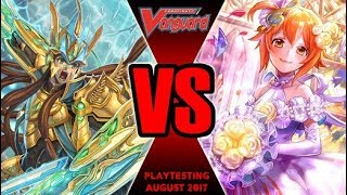 Garmore Vs Lauris Bermuda - Cardfight Vanguard Playtesting August 2017