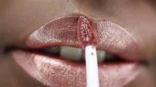 Rose Pose | Metallic Matte Liquid Lipstick | Beauty Bakerie Cosmetics Brand
