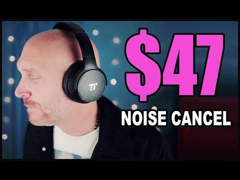 $47 Headphones that rival $300 Bose QC35 II Headphones. Noise Canceling from TT.