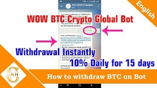 BTC Crypto Global Bot Payment Proof - Amazing Payout Instantly 24-05-2018