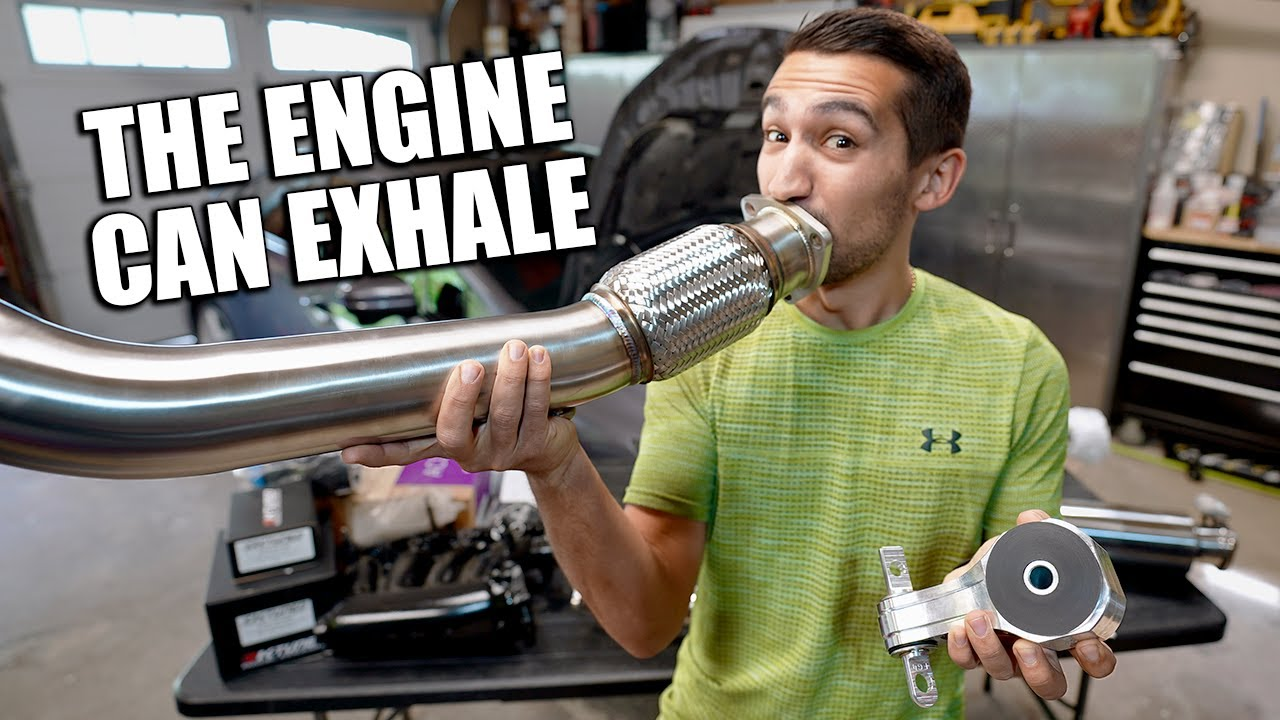 Civic Gets a Full New Exhaust System // FBO Part 1