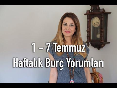 1 -7 Temmuz Haftalık Burç Yorumları - Hande Kazanova ile Astroloji