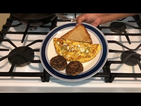How To Make The Best Feta Cheese Omelette