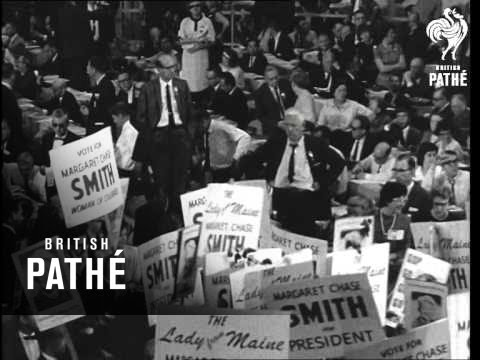 Republican National Convention To Name Presidential Nominee For 1964 (1964)