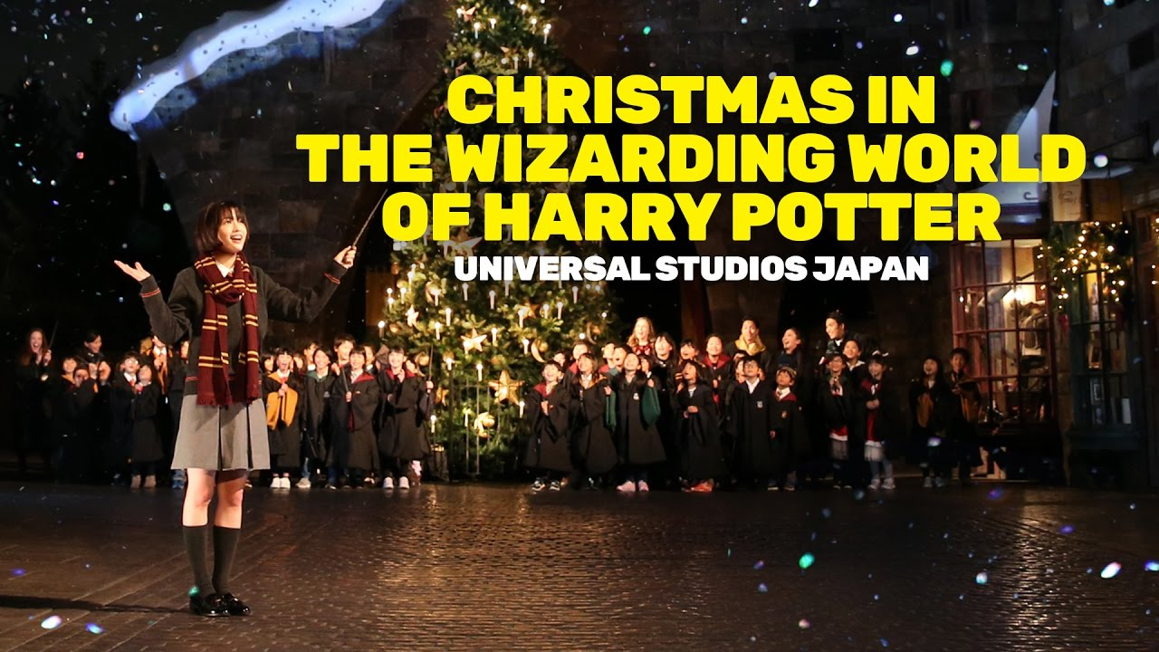 christmas comes to the wizarding world of harry potter at universal studios japan