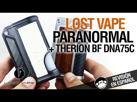 Lost Vape PARANORMAL DNA167 / Therion BF DNA75C - actualizando clásicos - revisión