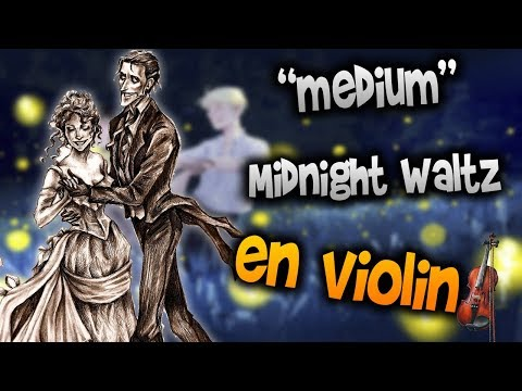 Midnight Waltz en Violín|How to Play,Tutorial,Tab,sheet music,Como Tocar|Manukesman thumbnail