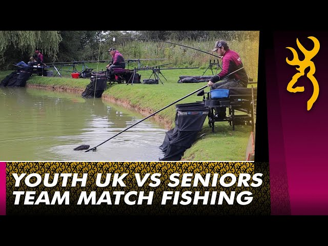 Browning Youth UK vs Browning Crowsport : Team Commercial Match Fishing 2021
