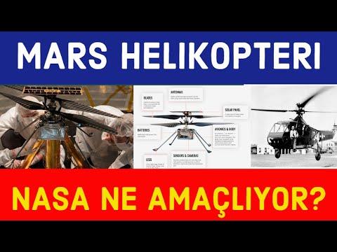 Helikopterin Mars'ta Ne İşi Var?
