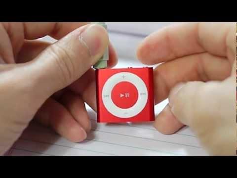 iPod Shuffle 4th Generation video Manual