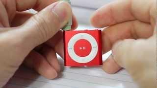 для iPod shuffle 4-го покоління відео інструкція