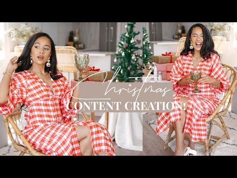 VLOG | Chit Chat GRWM & Content Creation! 🎄✨